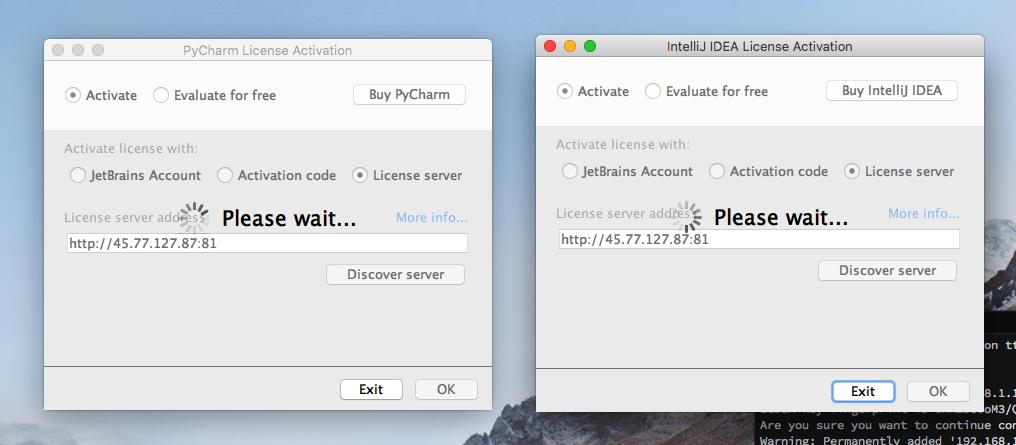 jetbrains license server update